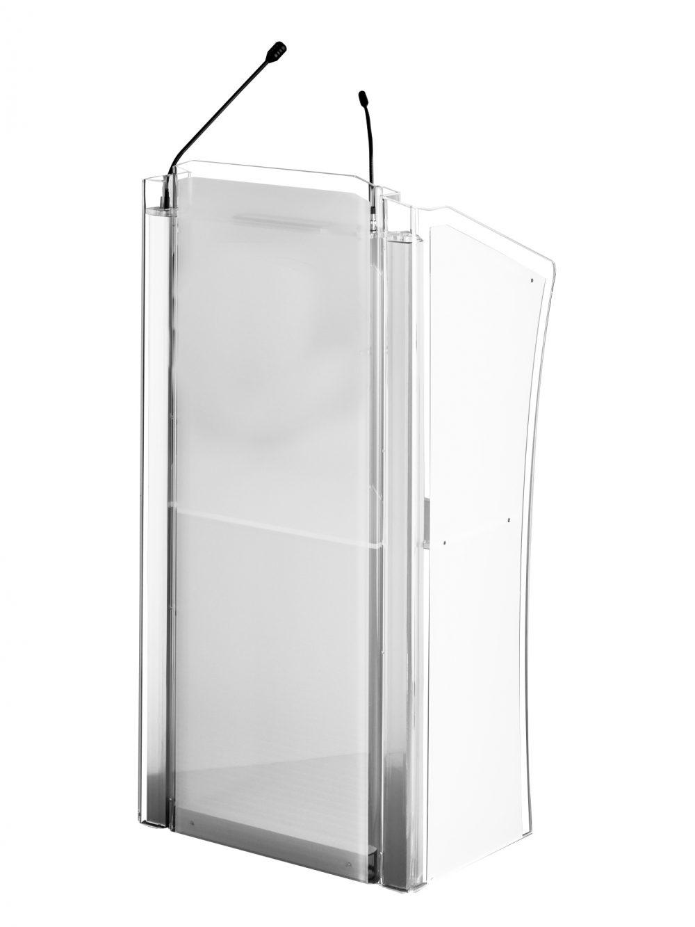 Cristall Rednerpult Acrylglas Kunststoff sehr elegant
