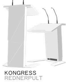 KONGRESS Rednerpult höhenverstellbar barrierefrei